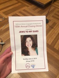 """""""Jews to my Ears"""""""