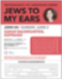 Jews to My Ears Poster.png