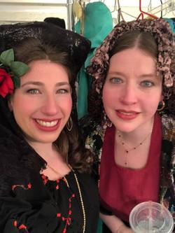Backstage at La Traviata!