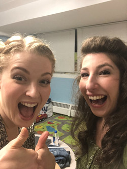 Rebecca and Brigitte!