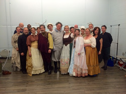 Full Cast of Merry Wives of Windsor!