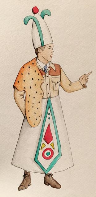 Lord Edgar as Priest