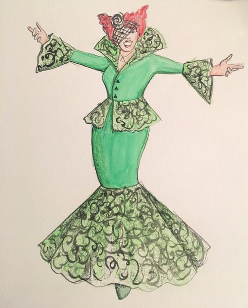 Madame at the Ball