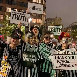 Halloween Parade/Whistleblowers 2019