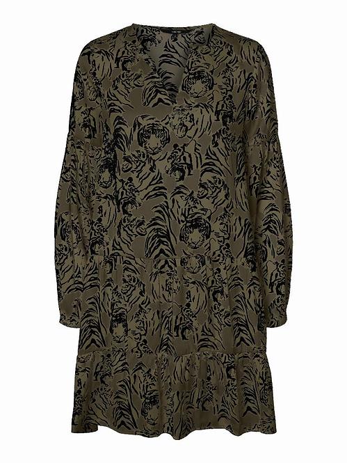 VMKATE LS SHORT DRESS WVN