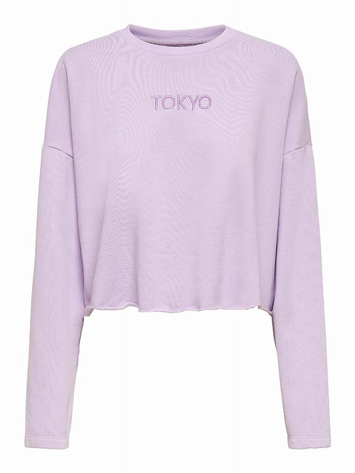 ONLHALEY L/S CROPPED SWEAT SWT