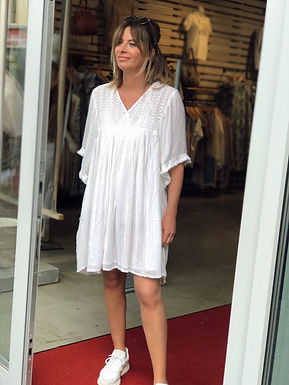 PLACE DU SOLEIL - Kleid mit Pailletten 29S21104PAILLETS0521