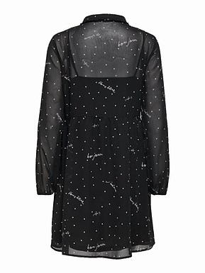 ONLTRACY  L/S ABOVE  KNEE DRES