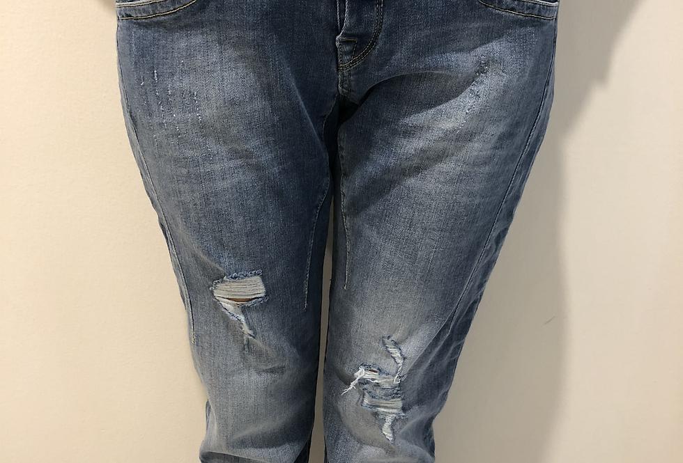 Herrlicher - Destroyed Jeans 215318D9445SHYRACROPPE1220