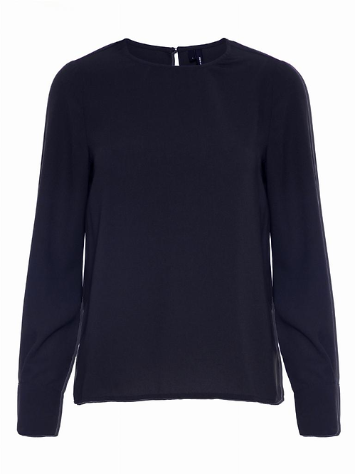 VMGABBY L/S TOP SOLID COLOR