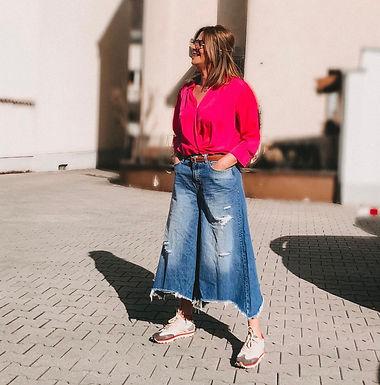 FRACOMINA - Flared Jeans 29FP21SP505D400P3SOFIA0521