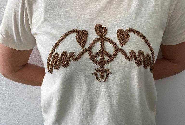 MOS MOSH - T-Shirt 21136930RoyalO-SS0221