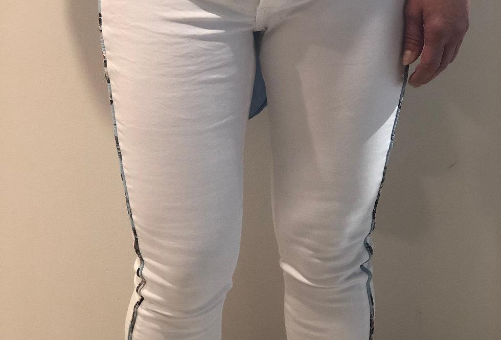 BLUE MONKEY - Jeans mit Streifen 20MARY-104320720