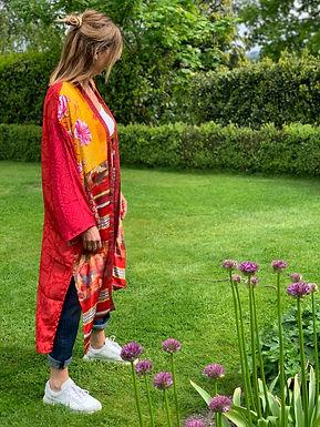 PLACE DU SOLEIL - Kimono 29S21502VINTAGESILK0521