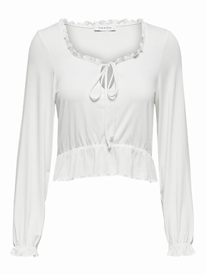 ONLTANIA L/S CROPPED TOP JRS