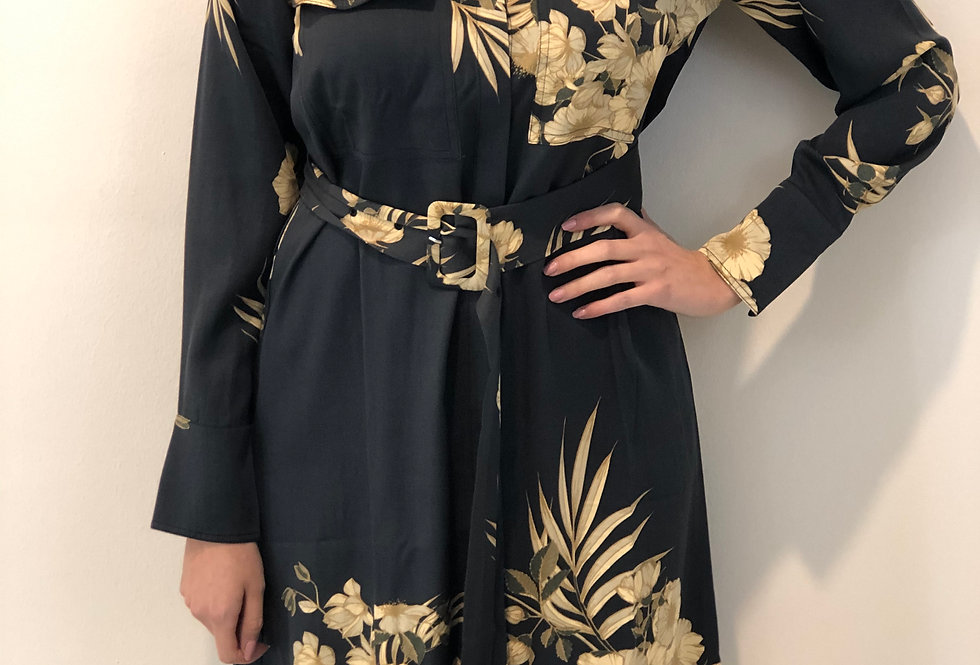 YAYA - Kleid mit passendem Gürtel