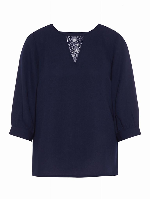 VMGABBY 3/4 LACE BLOUSE