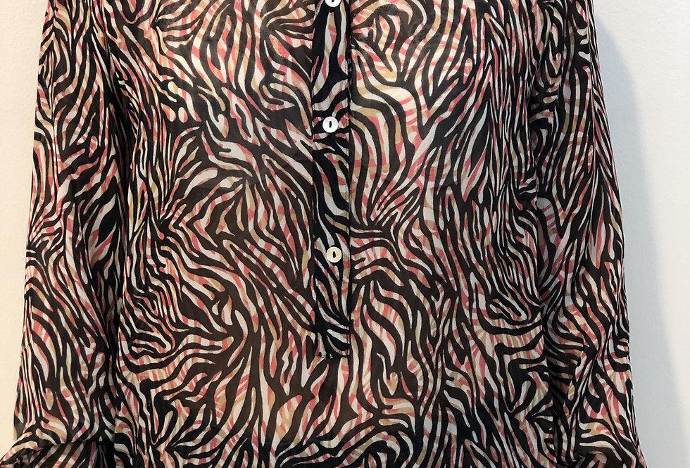 SUMMUM - Bluse Zebra 202S2400-111250420