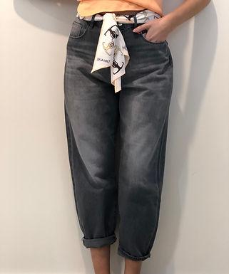 DAWN - Slouchy Jeans mit Stoffgürtel 21F01-03460420