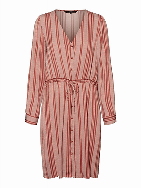 VMJUNA L/S KNEE SHIRT DRESS WV