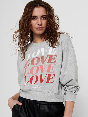 ONLLOVE LIFE L/S O-NECK SWT