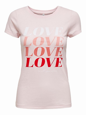 ONLLOVE LIFE FIT S/S TOP BOX J
