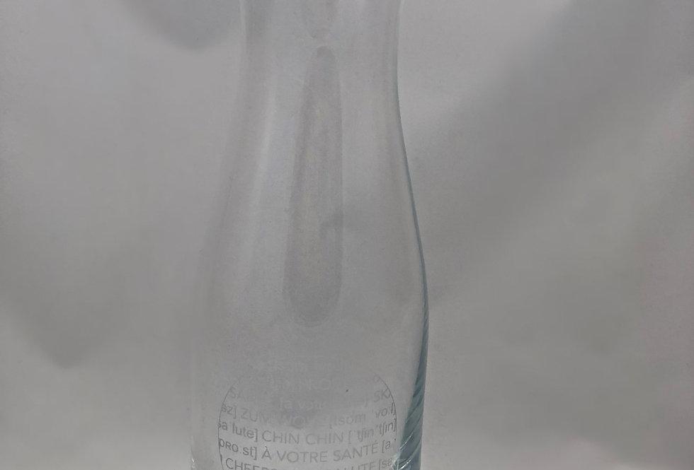 RÄDER - Glas Karaffe Prost