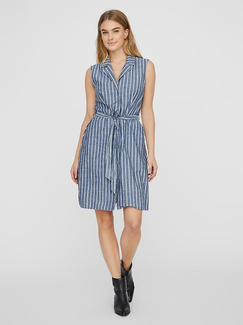 VMSANDY SL BUTTON SHORT DRESS