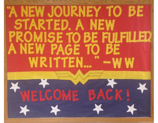 Back to school, the new New Year!