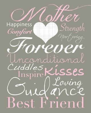 A little note on Mother's Day