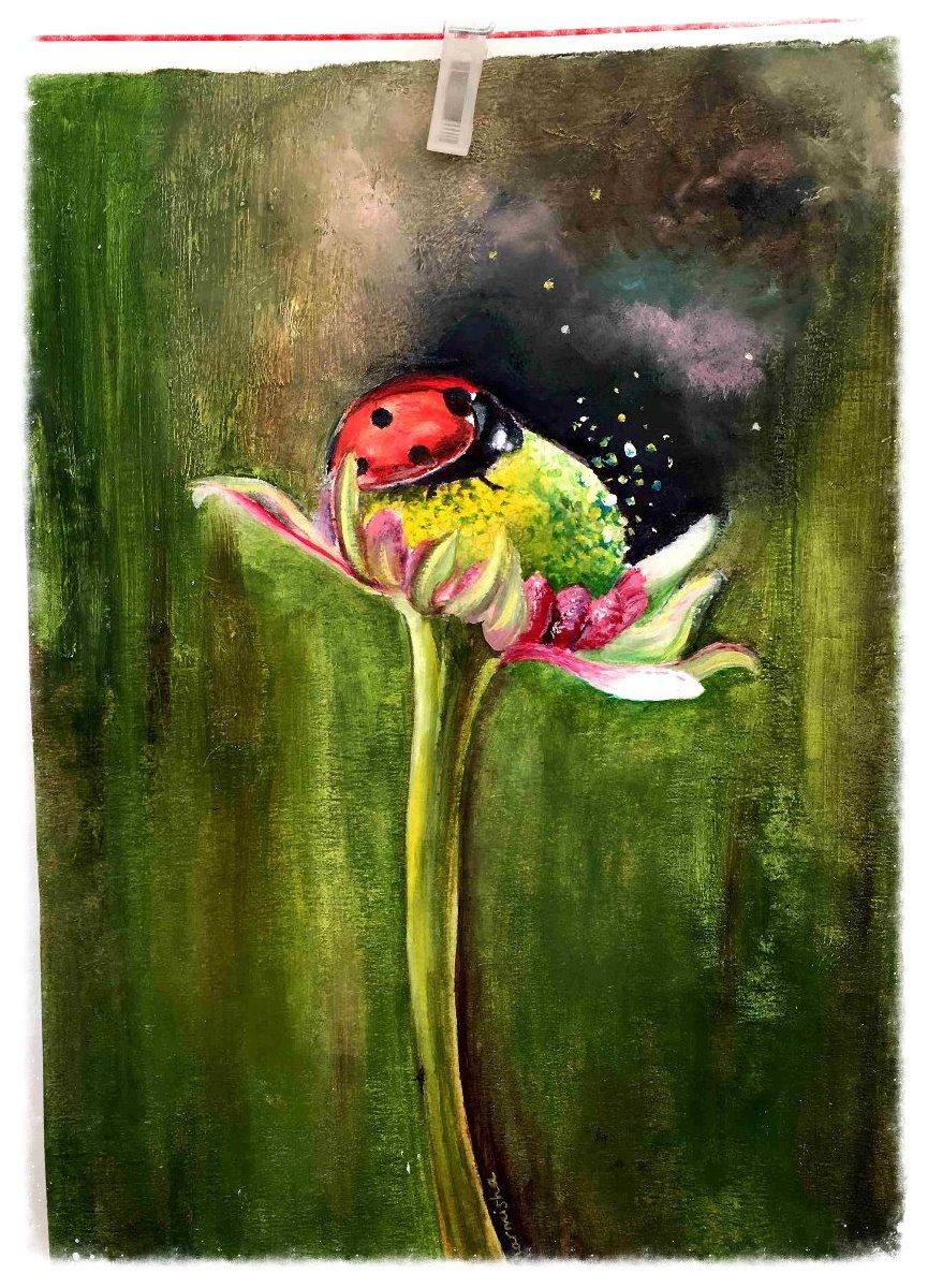 Love bug by Dharmisha Cvetkovic