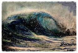 Infinite waves by Dharmisha