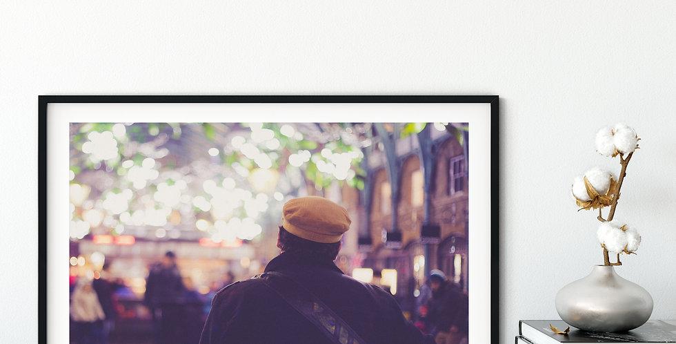 City Scene - Doing What He Loves