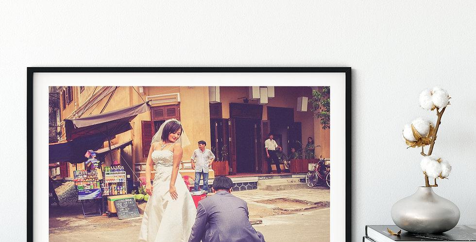 City Scene - Wedding Day