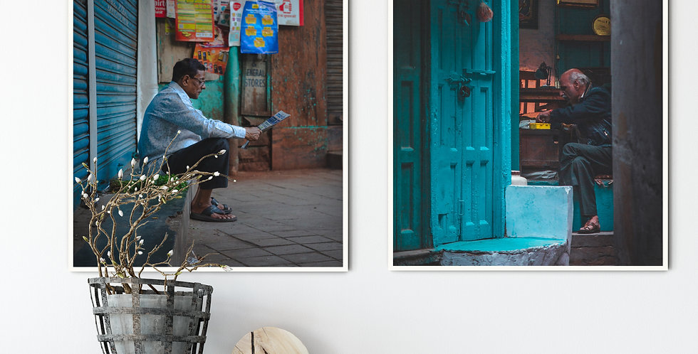 The Streets of India Set