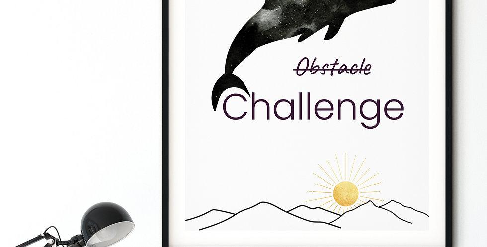 Challenge print