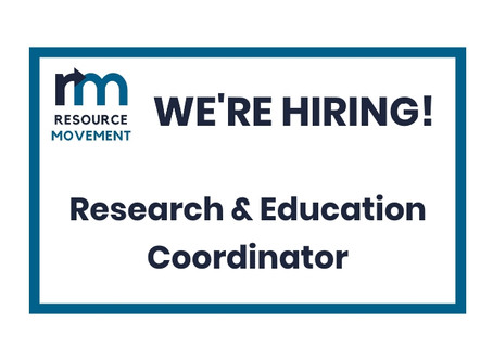 Summer contract: Research & Education Coordinator