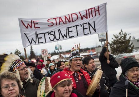 Statement of Solidarity with the Wet'suwet'en Nation