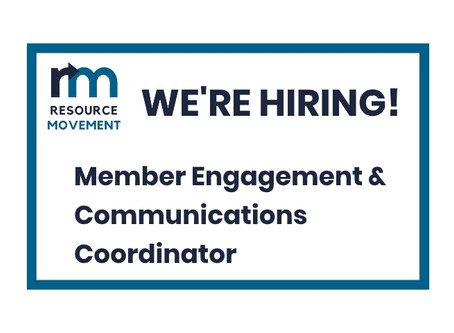 Summer contract: Member Engagement & Communications Coordinator