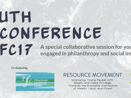 Meet us in Montreal:                        Youth Unconference @PFC17!