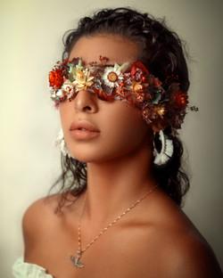 Woman Beauty fine art Portrait in France