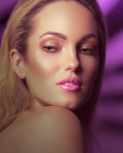 Woman Beauty Portrait in a hotel