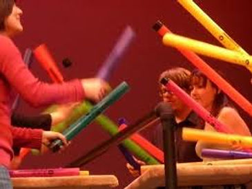 Boomwhackers are core in our programme