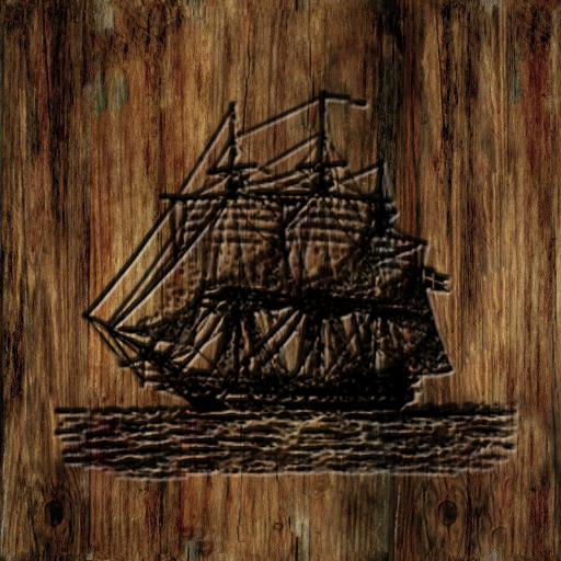 Ship on door.png