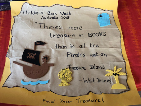 CBCA BOOK WEEK 2018 'Find Your Treasure'