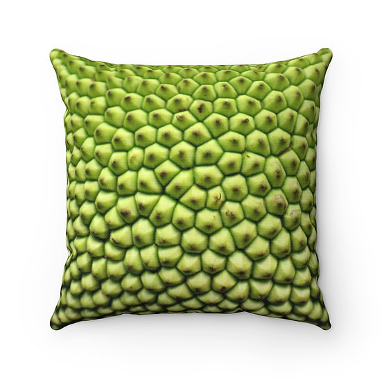 Jackfruit Spun Polyester Square Pillow Case