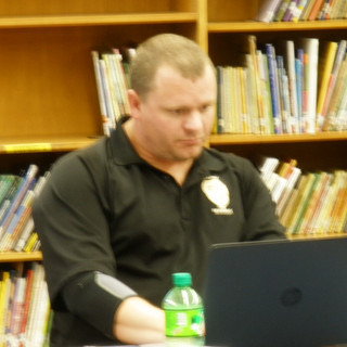 Josh Raleigh our City Inspector was our next guest