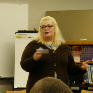 Jocelyn Fry was our featured guest.