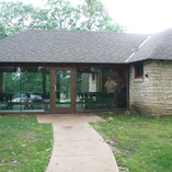 Newly remodeled enclosed shelter house provided nice air conditioned meeting