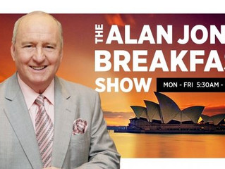 Louisa Collins on the Alan Jones program